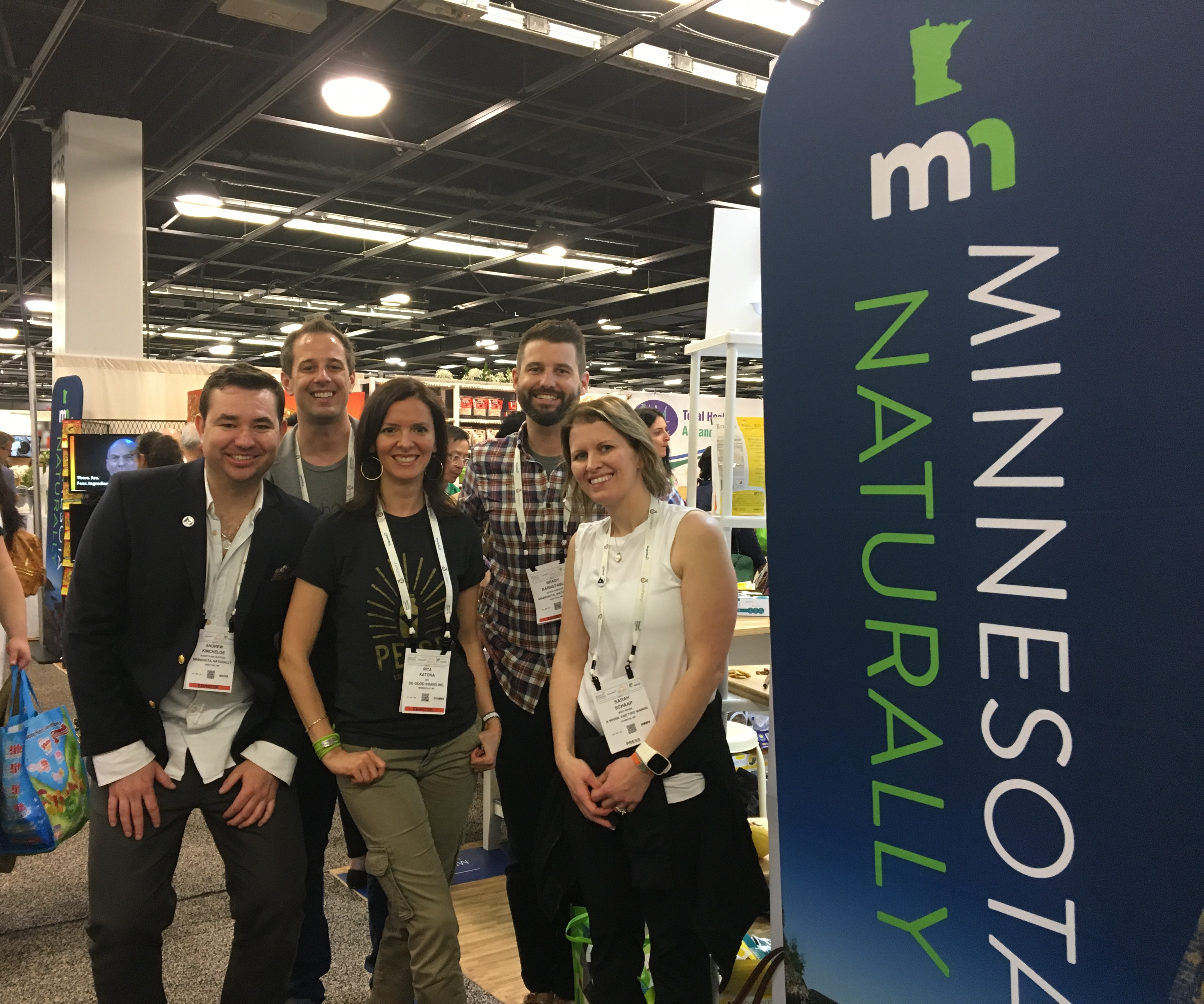 Five Minnesota entrepreneurs at Natural Products Expo
