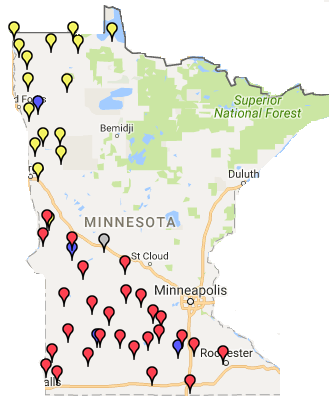 Six-Inch Soil Temperature Network | Minnesota Department of Agriculture